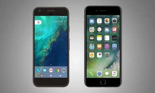 iphone 7 vs pixel xl